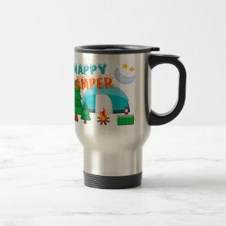 Happy Camper Cookout Travel Mug