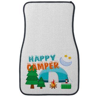 Happy Camper Cookout Floor Mat