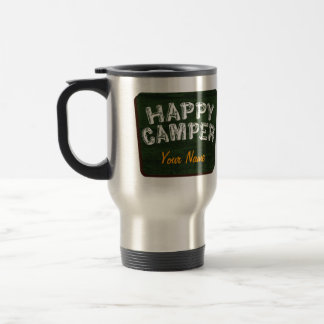 Happy Camper Customizable Camping Mug