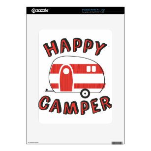 Happy Camper Decal For IPad