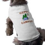HAPPY CAMPER DOGGIE TEE SHIRT