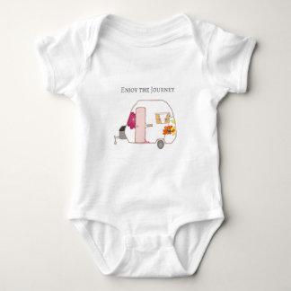 Happy Camper - Enjoy the Journey Baby Bodysuit