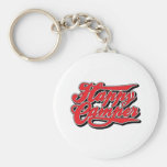 Happy Camper in Red Key Chain