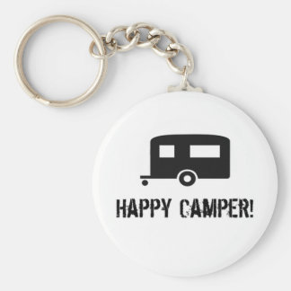 Happy Camper! Key Chain