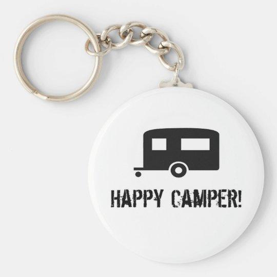 Happy Camper! Keychain