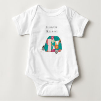 Happy Camper - Less House More Home Baby Bodysuit