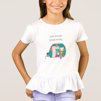 Happy Camper - Less House More Home T-Shirt