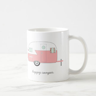Happy Camper Mug - Pink