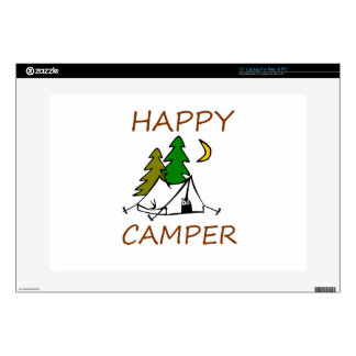 Happy Camper Outdoors Skins For Laptops