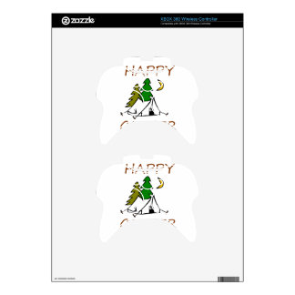 Happy Camper Outdoors Xbox 360 Controller Decal