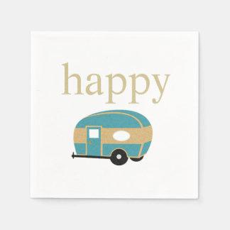 Happy Camper Paper Napkin