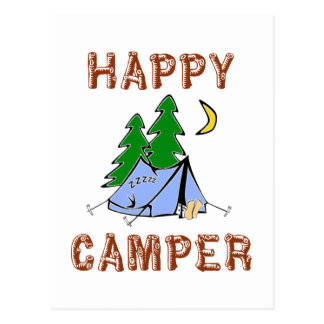 HAPPY CAMPER POST CARDS