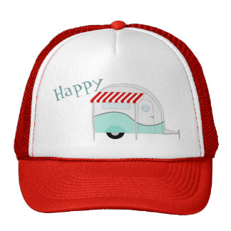 Happy Camper Retro Trucker Hat