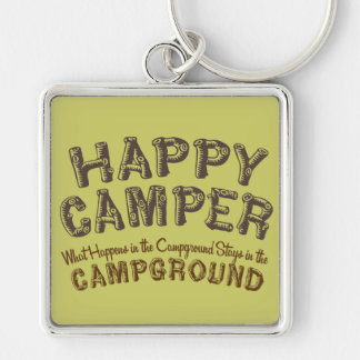 Happy Camper - RV Camping Keychain