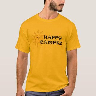 Happy Camper Sunshine Mens T-shirt Orange