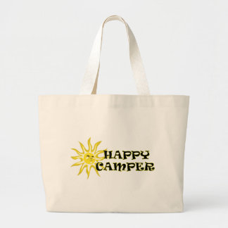 Happy Camper Sunshine Tote Bag
