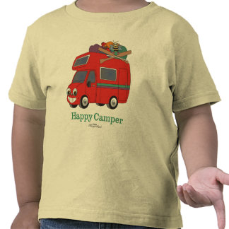 Happy Camper Toddler s T-Shirt