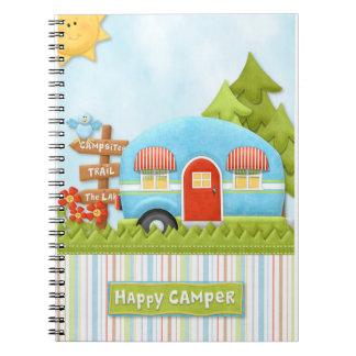 Happy Camper Travel Notebook