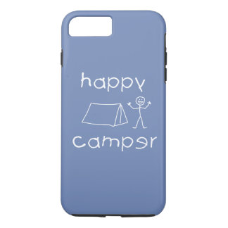 Happy Camper (wht) iPhone 8 Plus/7 Plus Case