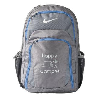 Happy Camper (wht) Nike Backpack