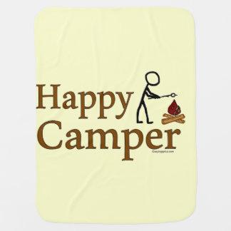 Happy Camper Stroller Blankets