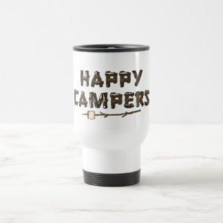 Happy Campers fun travel mug