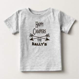 Happy Campers Personalized Shirt