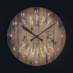 """Happy Campers Rustic Wood 