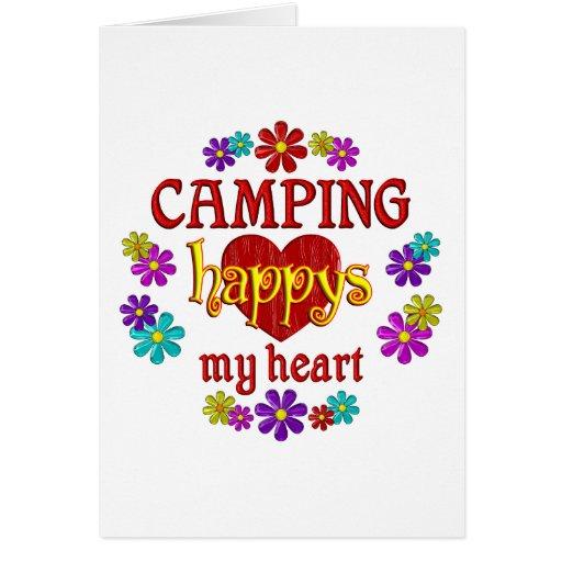 Happy Camping Greeting Card