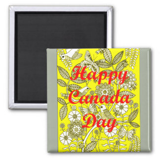 Happy Canada Day 2 Magnet