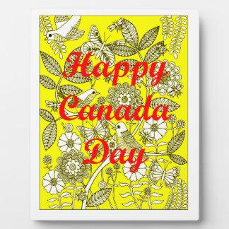 Happy Canada Day 2 Plaque