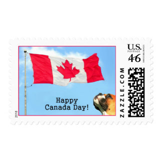 Happy Canada Day boxer Stamps