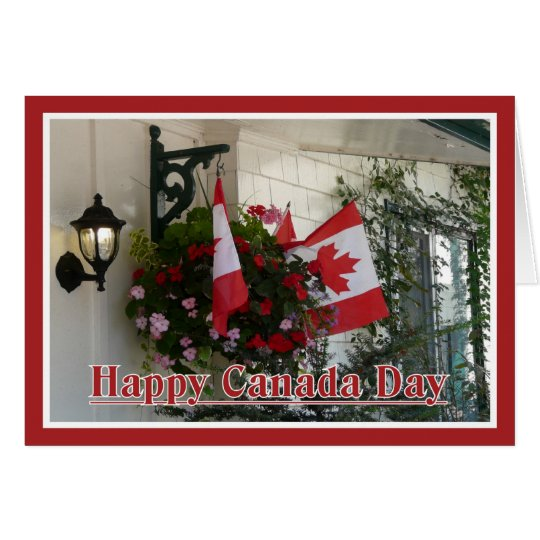 Happy Canada Day! Card