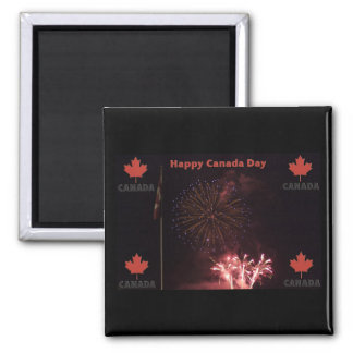 Happy Canada Day magnet