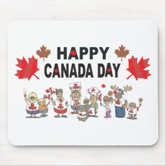 Happy Canada Day Mouse Pad