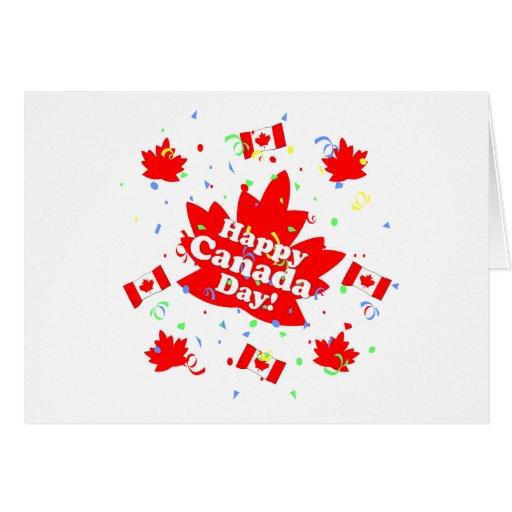 Happy Canada Day Party Greeting Card Zazzle