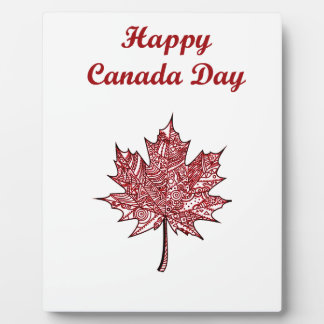 Happy Canada Day Plaque