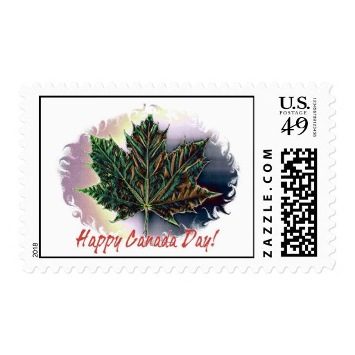Happy Canada Day! Postage Stamps
