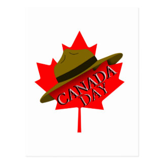Happy Canada Day Postcard