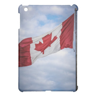 Happy Canada Day Red and White Canadian Flag iPad Mini Cover