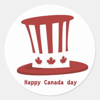 Happy Canada day Stickers