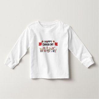Happy Canada Day Toddler T-Shirt