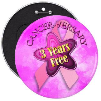 Happy Cancer-versary Pin