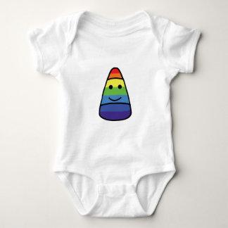 Happy Candy Corn Baby Bodysuit