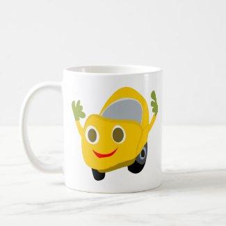 Happy Car Coffee Mug