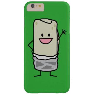 Happy Carne Asada Burrito Waving Hello Barely There iPhone 6 Plus Case