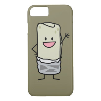 Happy Carne Asada Burrito Waving Hello iPhone 7 Case