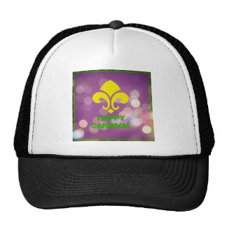 Happy Carnival with Bokeh Lights Trucker Hat