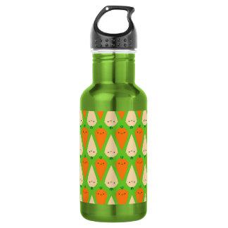 Happy Carrots & Parsnips 18oz Water Bottle