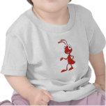 Happy Cartoon Ant T-shirt